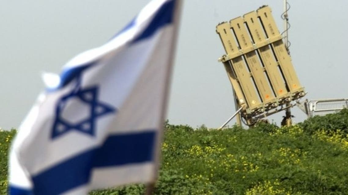 An Iron Dome short-range missile defence system is pictured in the Israeli city of Ashdod on March 11, 2012.