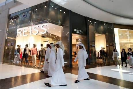 Shoppers in Dubai Mall (File Photo: Reuters)