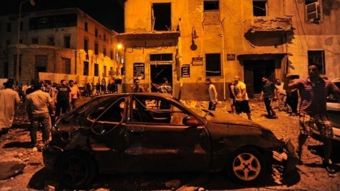 تفجير سابق بنغازي