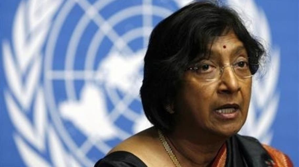 Navi Pillay U.N. rights chief (reuters)