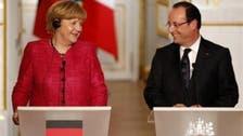 Ukraine internet trolls target Hollande and Merkel