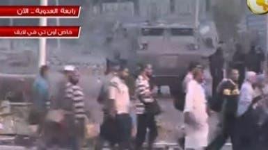 """مغادرة جماعية لمعتصمي """"رابعة"""" بعد تأمين خروج آمن لهم"""