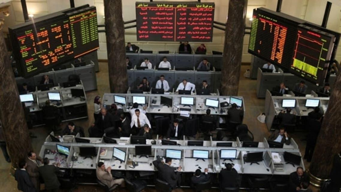 بورصة مصر هوت اليوم بسبب أحداث رابعة العدوية والنهضة
