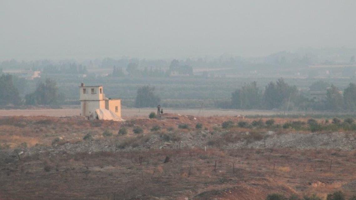المنطقة الحدودية الاردنية السورية