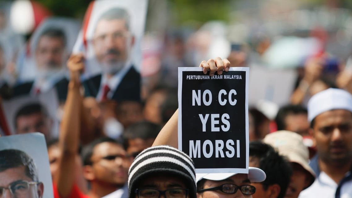 Mursi supporters against Sisi Reuters