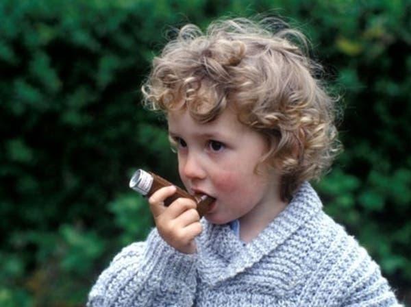 الأطفال المصابون بالربو يتعافون منه عند الكبر
