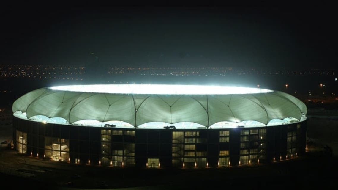 Dubai Sports Stadium at night (File Photo Courtesy of Vision)