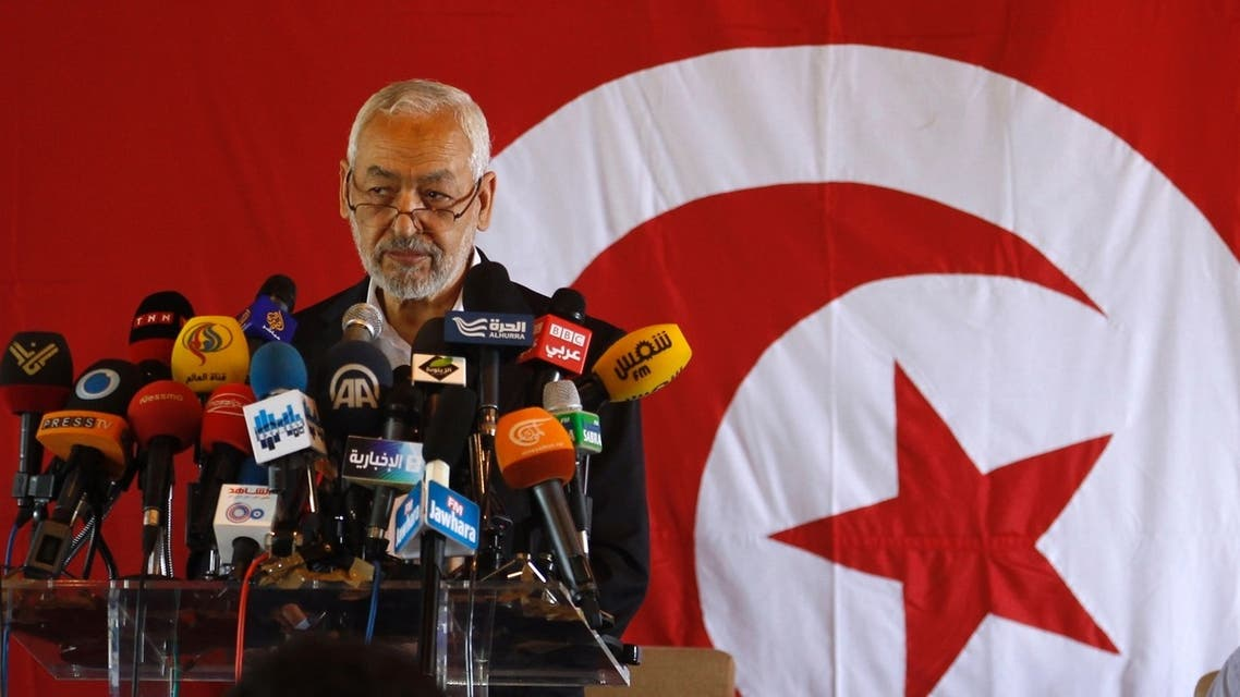"Rached Ghannouchi, leader of the Islamist Ennahda movement, speaks during a news conference in Tunis August 15, 2013. Ennahda party chairman Rached Ghannouchi said he would accept the creation of a government of national unity, but only provided all political parties are represented. ""We refuse a non-partisan government because this type of government could not manage the delicate situation of the country, he told journalists. (Reuters)"