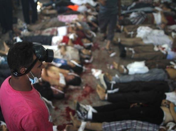 الصحة المصرية: قتلى الاشتباكات في أنحاء البلاد 525 شخصا