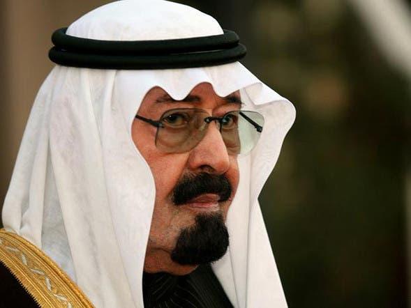 saudi king abdullah declares support for egypt against
