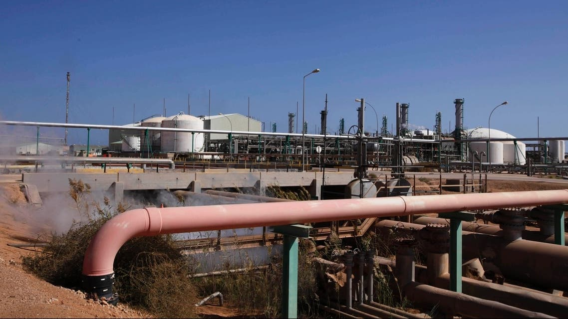 Libya oil refinery reuters