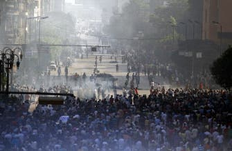 Supporters of the Muslim Brotherhood and Egypt's ousted president Mohamed Morsi gather in Cairo's Abbassiya neighbourhood on August 16, 2013. (AFP)