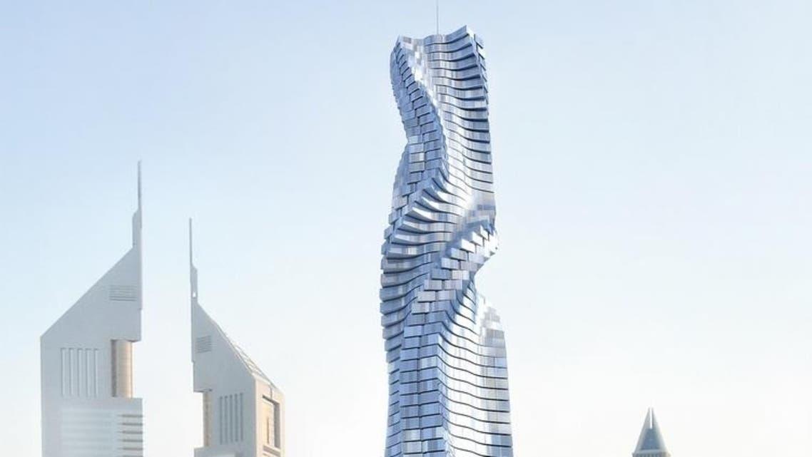 ناطحة سحاب دوارة في دبي