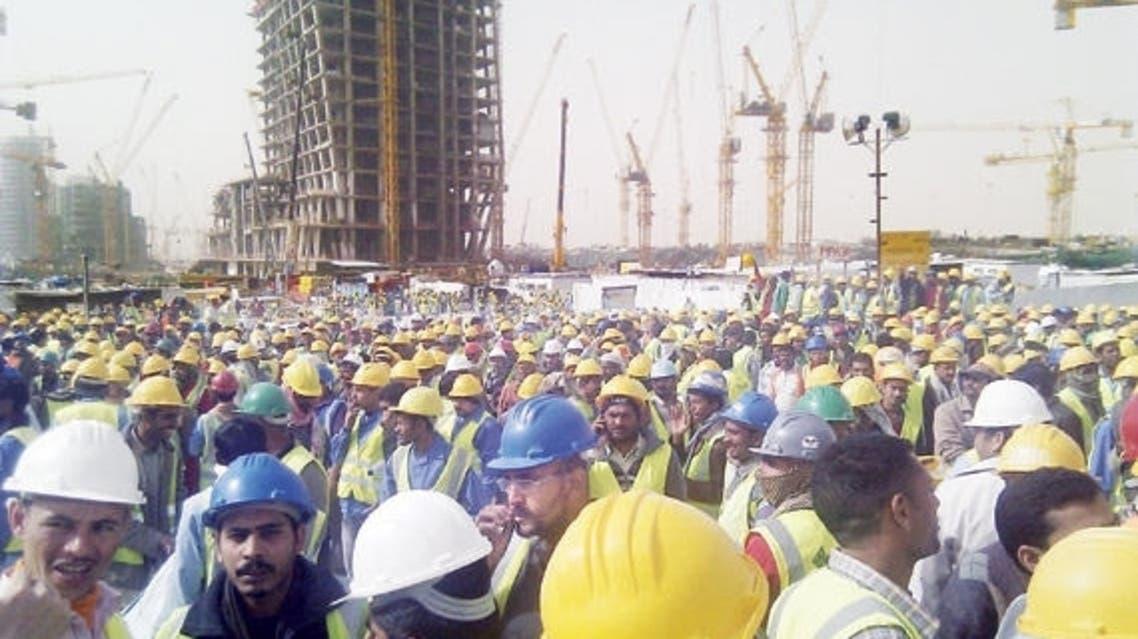 عمالة في قطاع المقاولات بالسعودية