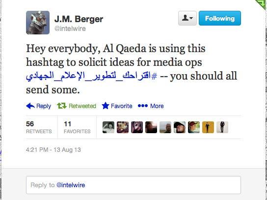 alqaeda tweets