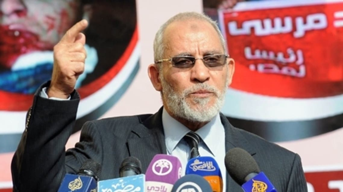 The son of Mohamed Badie (pictured), supreme guide of Egypt's Muslim Brotherhood, was killed in violence between protesters and security forces on Friday, the group's political arm said on Saturday. (File photo: AFP)