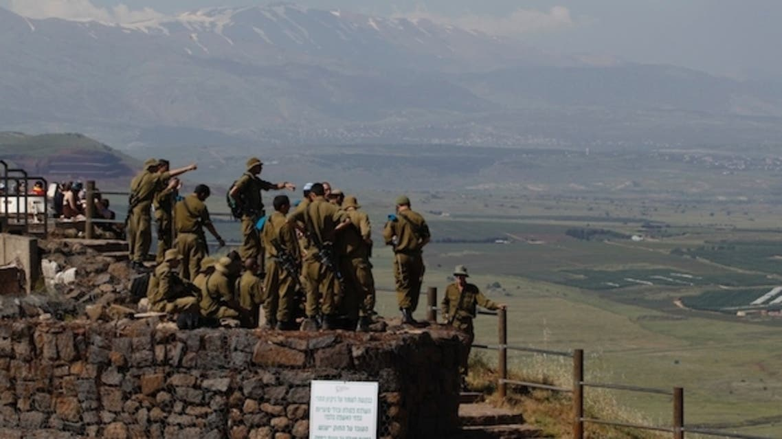 The Israeli army fired into Syria after shells from the neighboring country hit the Israeli-occupied sector of the Golan Heights on Saturday, a military spokesman said. (File photo: Reuters)