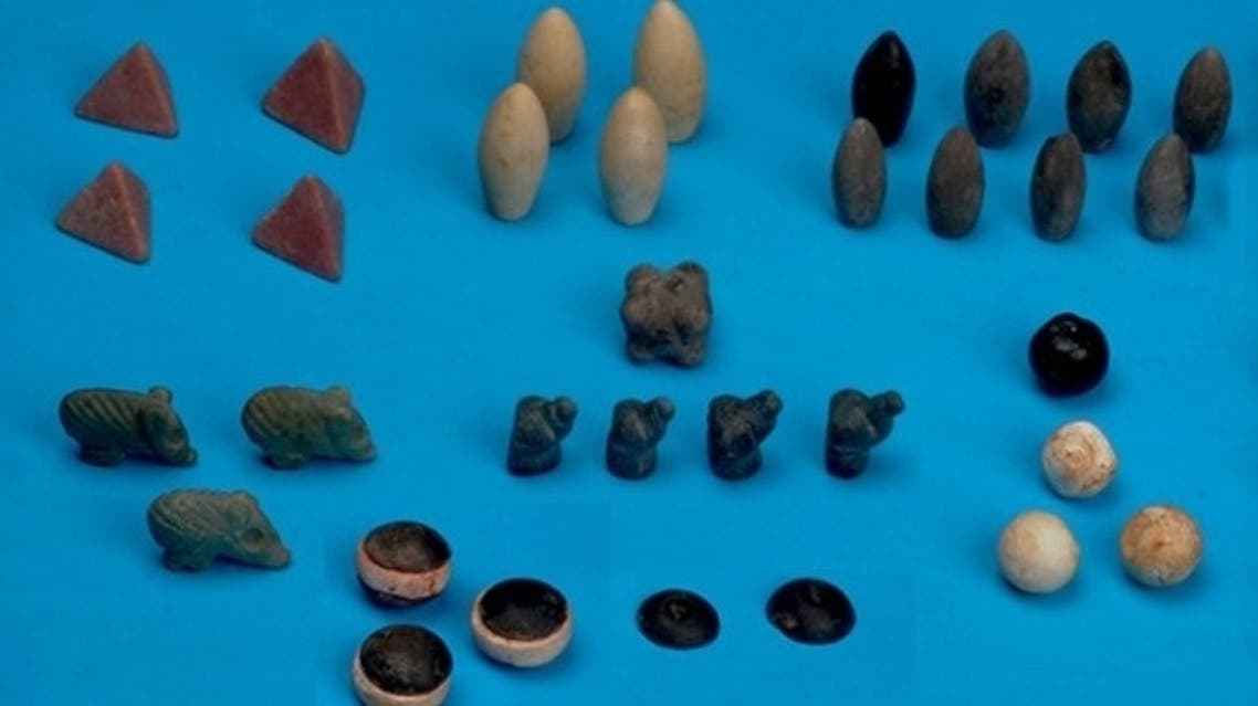 The tokens were found at Başur Höyük, a burial plot in Turkey which dates from 3100-2900 BCE. (Photo courtesy: Ege University)