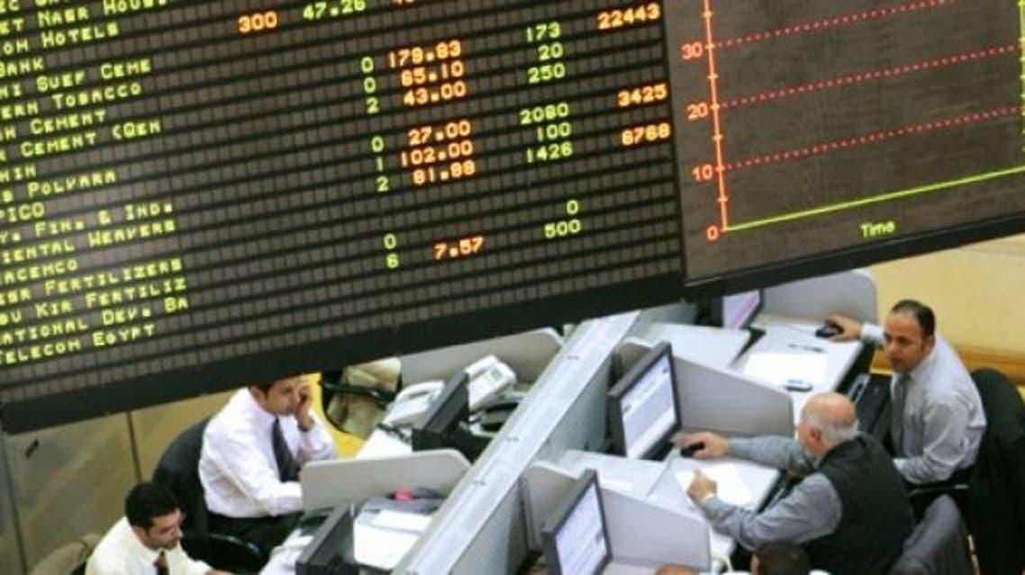 egypt stock AFP