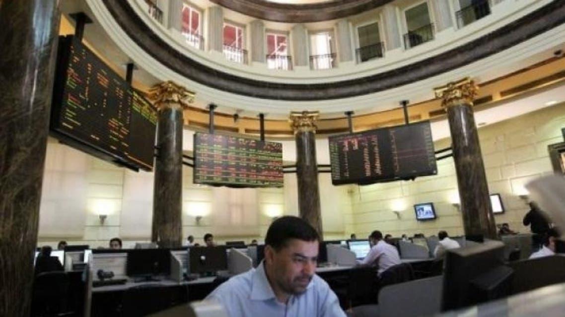 Egypt bourse aFP