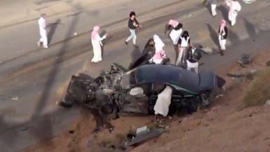 نجاة مفحطين في السعودية بأعجوبة من موت محقق