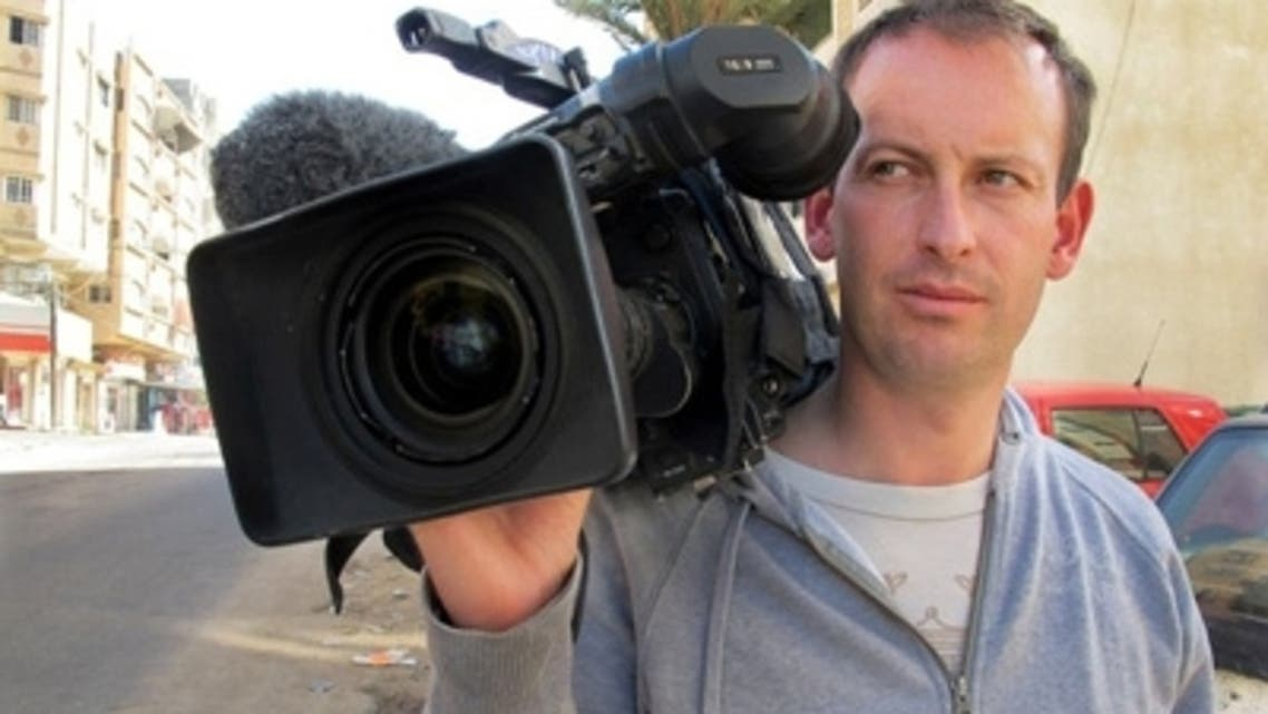 TV journalist Gilles Jacquier was killed in the Syrian city of Homs on Wednesday. (Reuters)