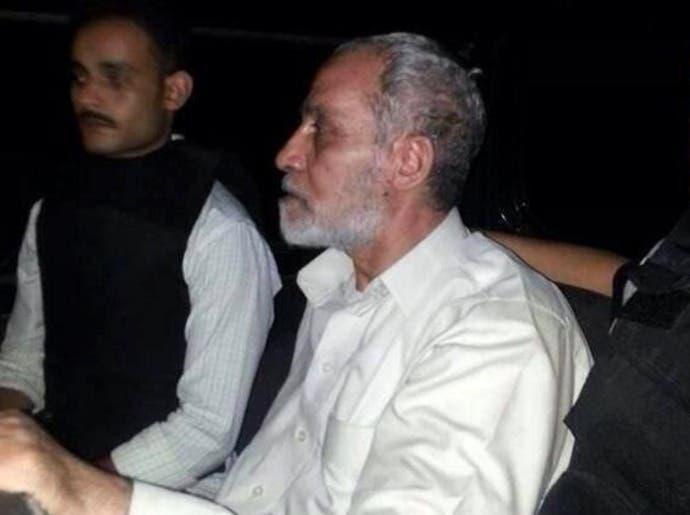 المؤبد لمحمد بديع وقيادات إخوانية بقضية قسم شرطة العرب بمصر