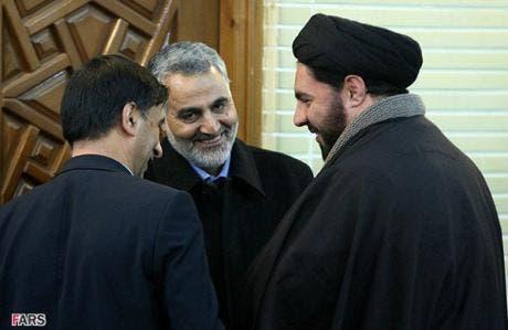 قاسم سليماني في مجلس الخبراء