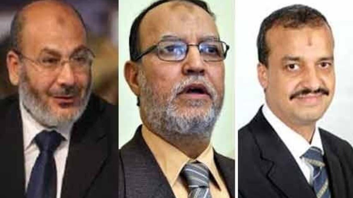 Mohammad el-Beltagy, Essam el-Erian and Safwat Hegazy.