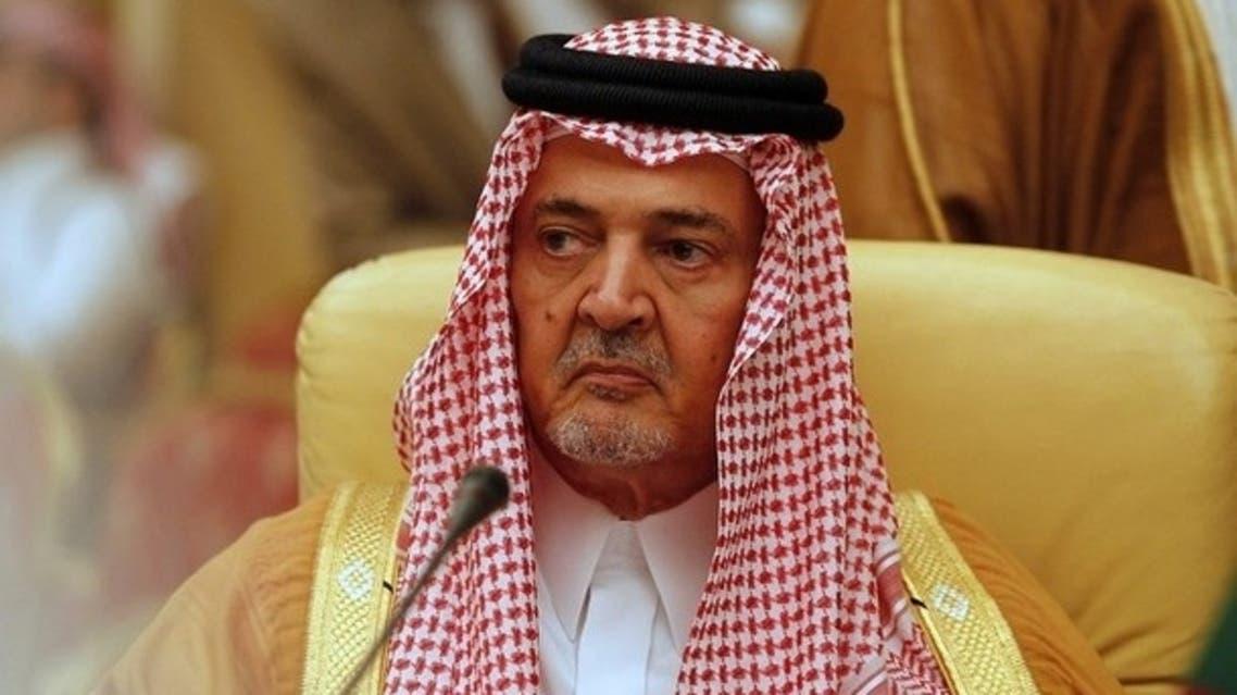 وزير الخارجية السعودي الأمير سعود الفيصل