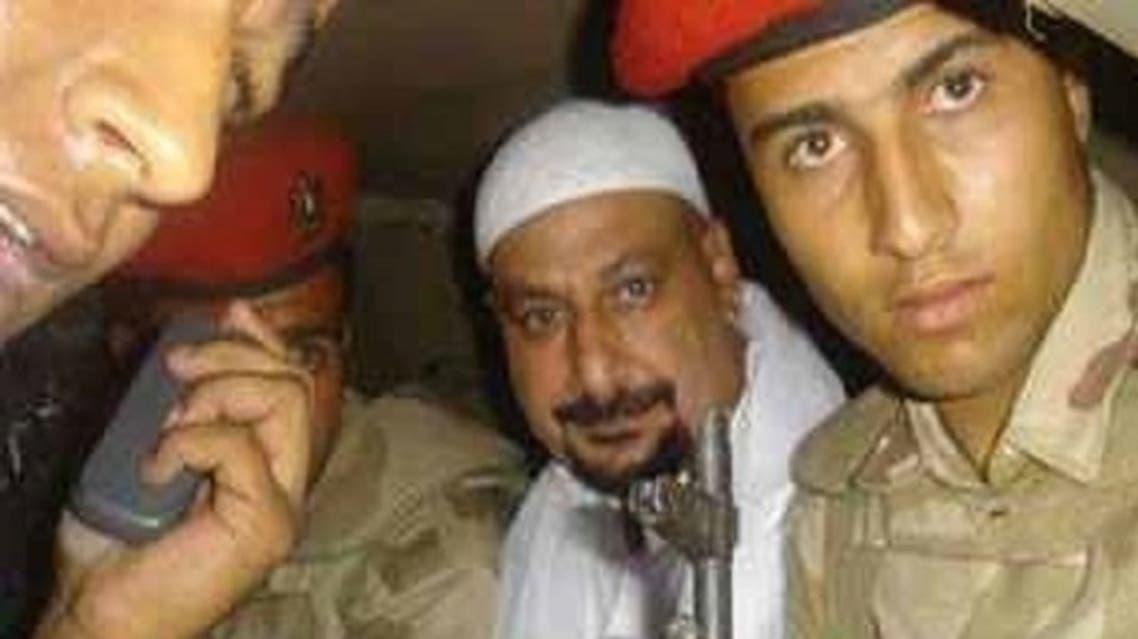 Safwat el-Hegazy seen after he was arrested. (Al Arabiya)
