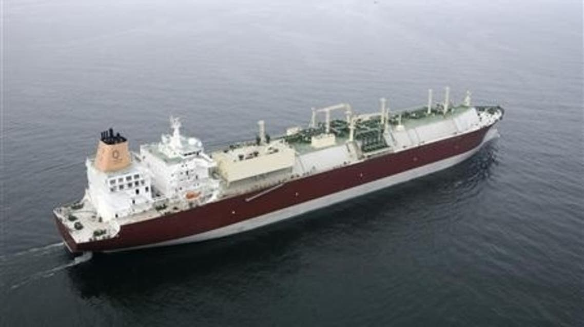 A third shipment of liquefied natural gas, donated by Qatar to Egypt, set sail early on Thursday. (File photo: Reuters)