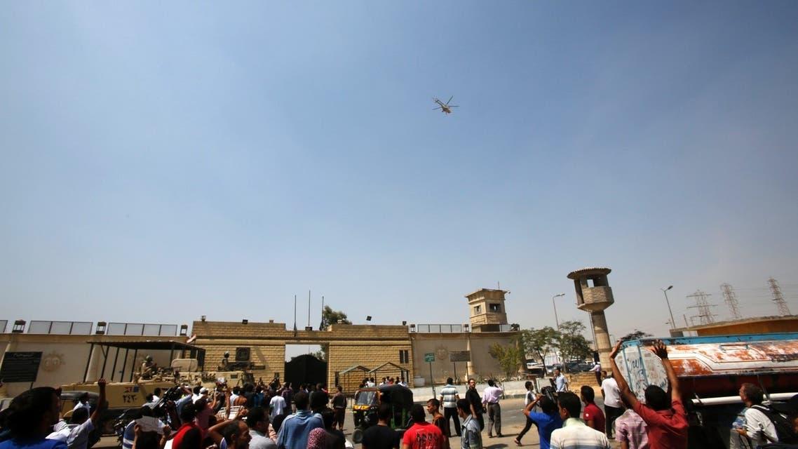 The release of Mubarak