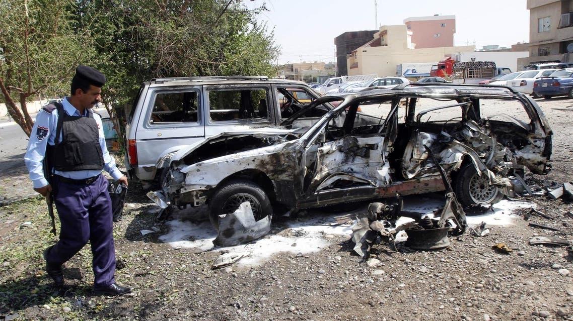 bomb attack in Kirkuk August 22 (Reuters)