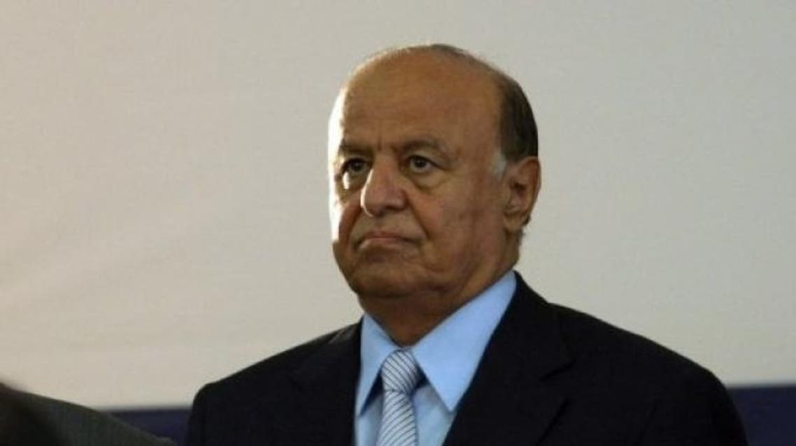 Abd Rabuh Mansur Hadi yemen president AFP