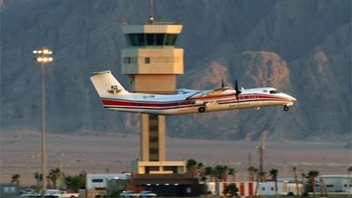 مطار شرم الشيخ في مصر