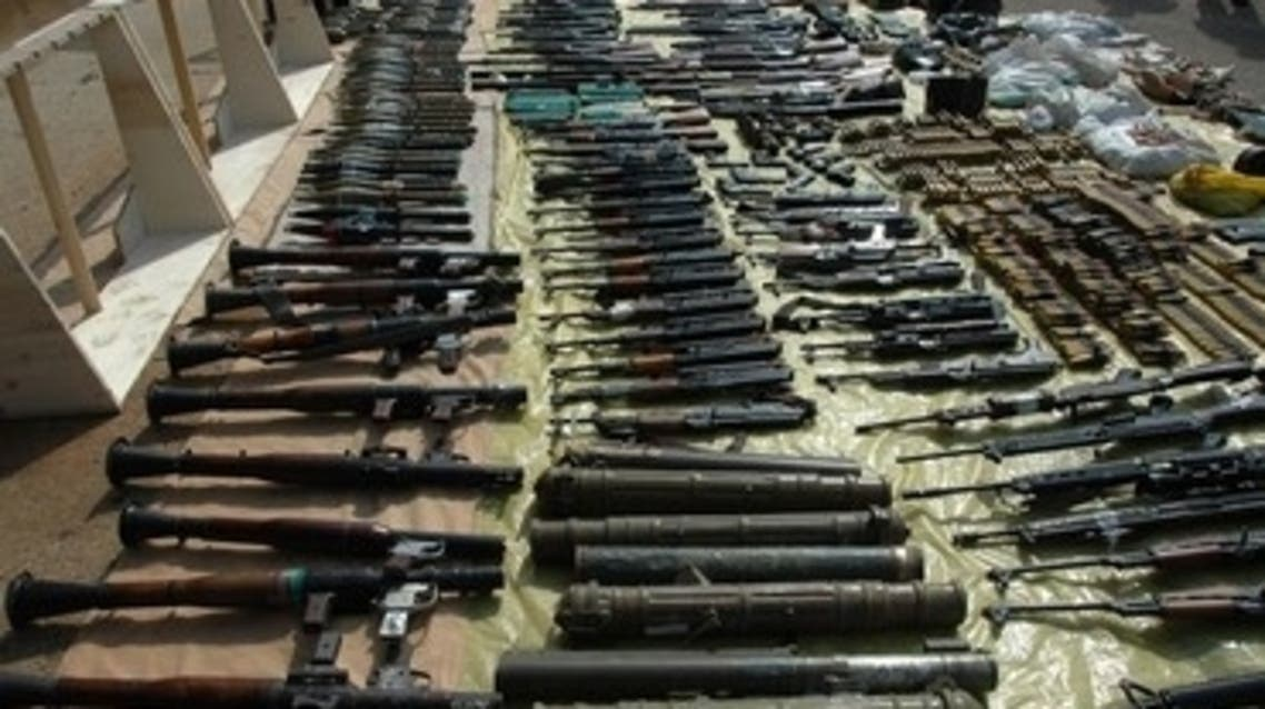 Syrian Arms (File Photo: Reuters)