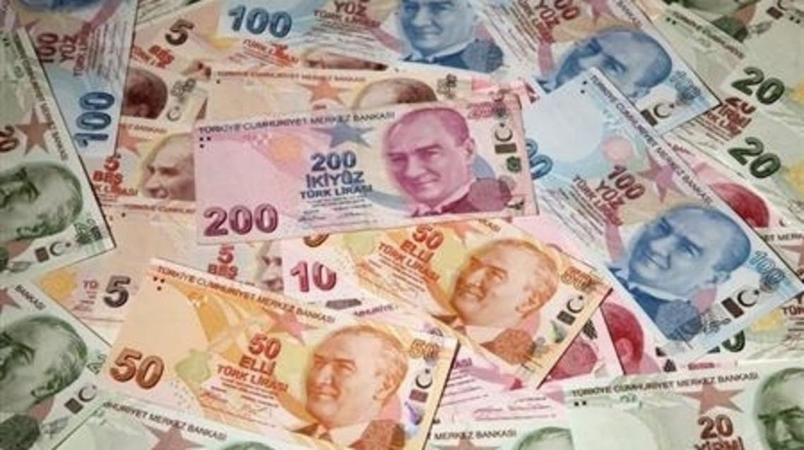 Turkish lira banknotes are seen in this picture illustration taken in Istanbul (File Photo: Reuters)