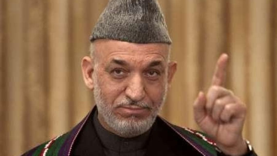 Afghan President Hamid Karzai is to hold key talks with Pakistan's newly elected government on Monday. (File photo: Reuters)
