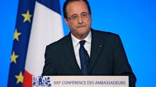 Hollande: France 'ready to punish' those behind chemical attacks in Syria