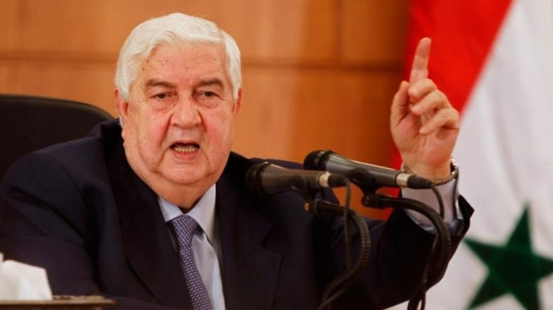 Walid Muallem (File Photo: Reuters)