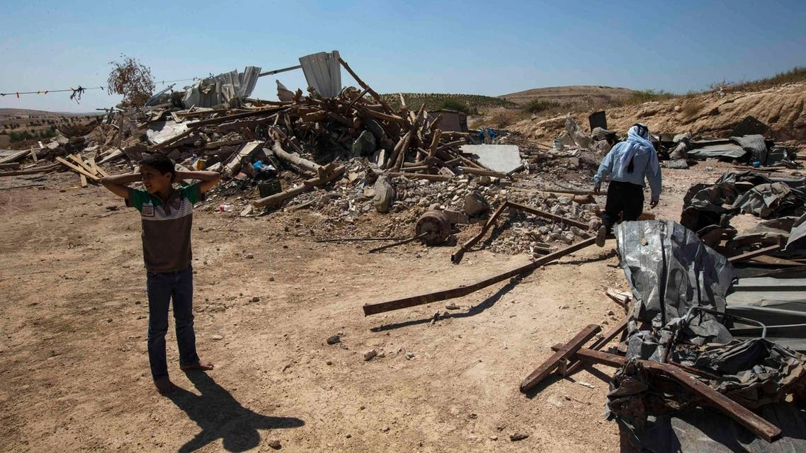 Israel evicts Bedouins