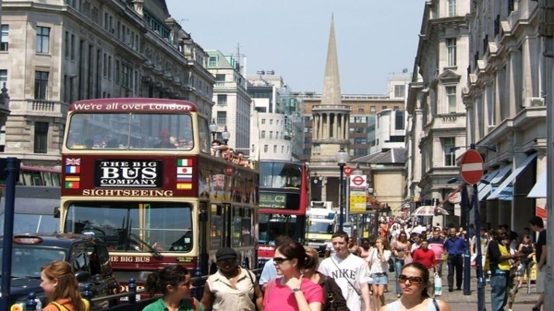 لندن - سياحة في شارع أكسفورد