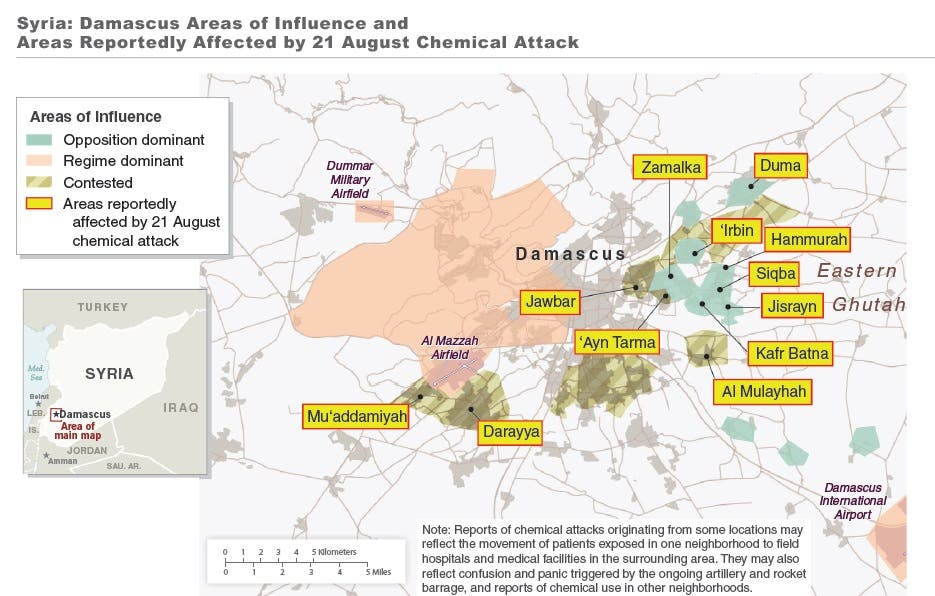 Syria chemicals