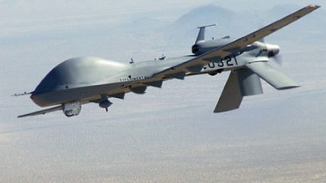 File photo of a US drone. PHOTO AFP