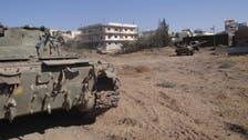 Syrian troops advance near Lebanon border