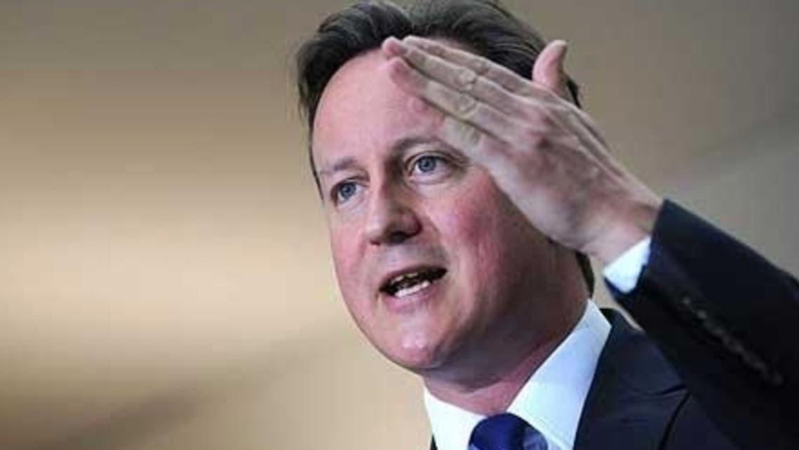رئيس الوزراء البريطاني، ديفيد كاميرون