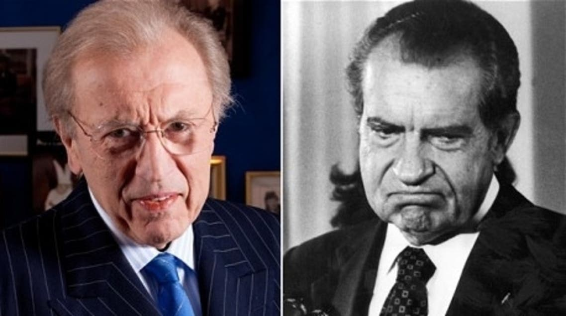 Sir David Frost interviewed US president Richard Nixon in 1977 (Photo courtesy: Andrew Crowley/ The Telegraph)