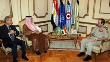 السيسي خلال لقائه الفيصل: نعتز بجهودكم الداعمة لمصر