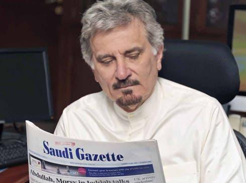 Almaeena took editorship of the Saudi Gazette in April 2012, having twice been editor of the rival Arab News. (Photo courtesy: Khaled Almaeena)